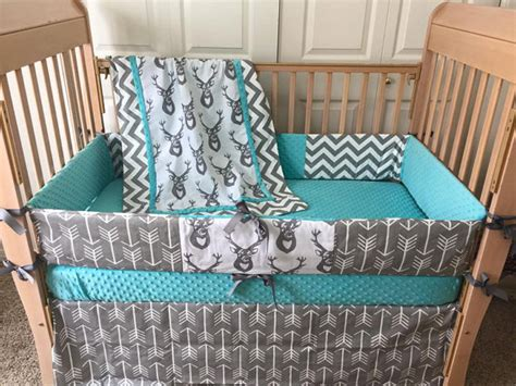 Baby Deer Crib Bedding Sets Deer Crib Set Arrow Baby Bedding Buck Crib By Sewsweetbabydesigns