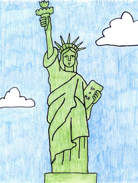 statue of liberty craft for search results for statue of liberty drawing calendar 2015