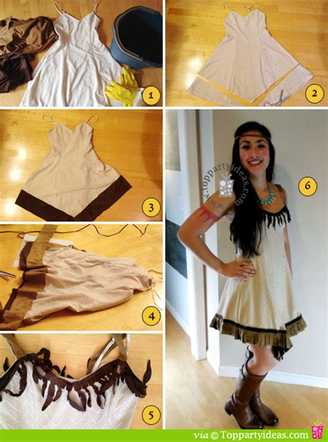 Handmade Pocahontas Costume - easy no sew diy pocahontas or american indian