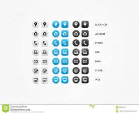 business card icons free 15 contact icons for business cards images free contact