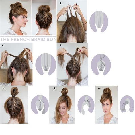 diy awesome hairstyles awesome do it yourself hairstyles braided bun guff