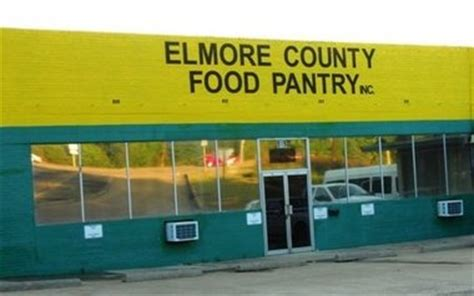Elmore County Food Pantry by Elmore County Food Pantry Needs Donations Volunteers Al