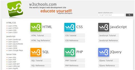 membuat website katalog beberapa situs terbaik untuk belajar membuat website
