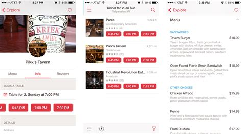 Open Table App by Best Restaurant Finding Apps For Iphone Explore Different