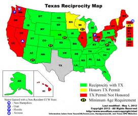 reciprocity map chl in michigan springfield xd forum