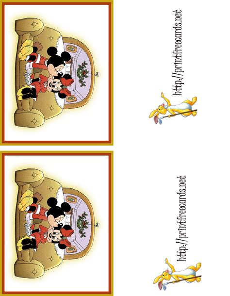 disney card templates template thank you notes new calendar template
