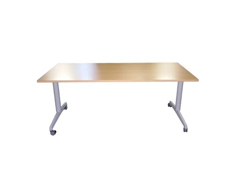 table bureau pliante table pliante 224 roulettes adopte un bureau