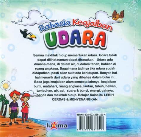 Buku Paket Sains Anak Mengenal Alam Semesta ebook seri sains anak mengenal alam semesta rahasia keajaiban udara ebook anak
