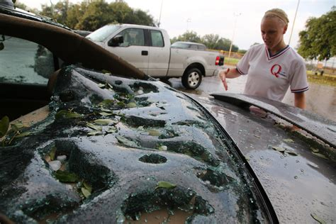 Update: With Property Claims Added, North Texas Hail