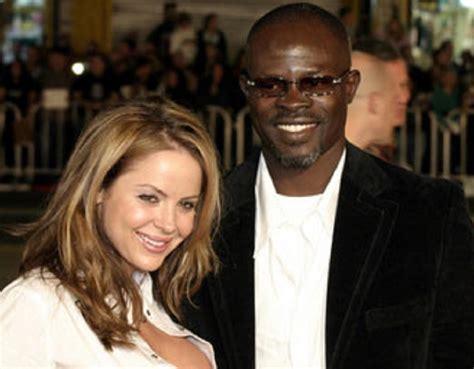 White woman dating black man