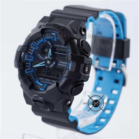 Gshock Biru Biru harga sarap jam tangan g shock ga 700se 1a2 neon hitam biru