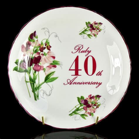 40th Wedding Anniversary Gifts by Wedding World Ruby Wedding Anniversary Gift Ideas
