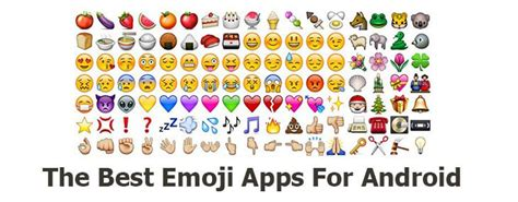 emoji android app 7 free emoji app for android to send silly smiles