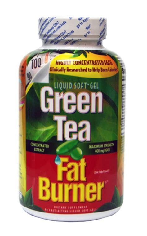 is green tea fat burner safe?