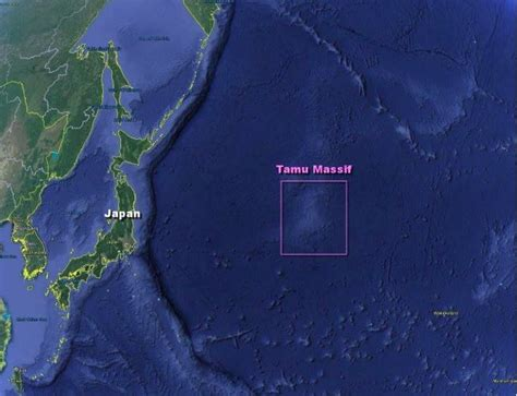 world s largest lava l largest volcano on earth discovered on pacific floor