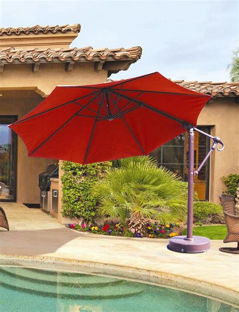 11 Cantilever Patio Umbrella With Base 11 Cantilever Patio Umbrella With Base Icamblog