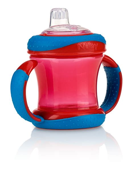 Nuby Imonster Grip N Sip Cup 210ml gripn sip two handle cup 7oz 210ml buybabydirect