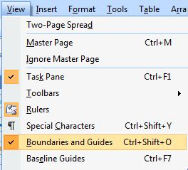 layout guides in publisher 2010 design and layout using margins and guides in your