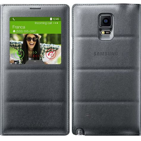 Flip Cover View Samsung Note 4 samsung galaxy note 4 s view flip cover