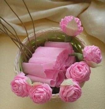 como hacer flores de papel crepe faciles y bonitas youtube rosas de papel crep 233 paso a paso para hacer en casa