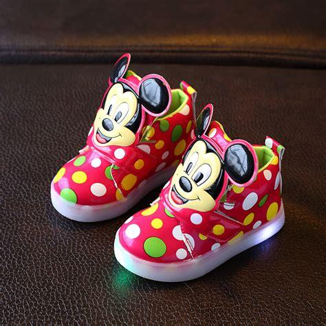 Boots Fashion Miki Led Sz 26 30 Best Seller â Shoes With ù â û Light Light Boys Led Sneakers New