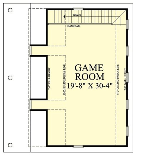 game room floor plans ideas 2 car garage with game room 32625wp pdf