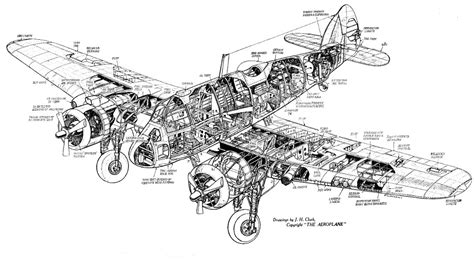 what is a cutaway diagram beaufighter jl710 cutaway drawings