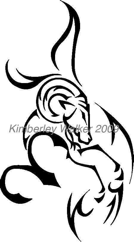 100 and black aries tribal aries images attractive black tribal aries zodiac sign design by