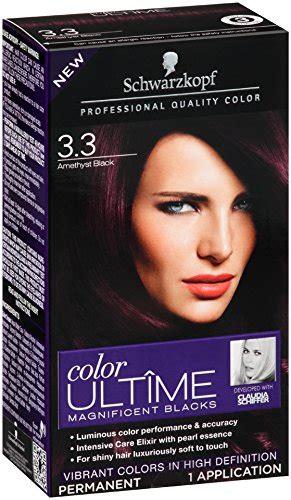 black amethyst hair color schwarzkopf keratin color anti age hair color