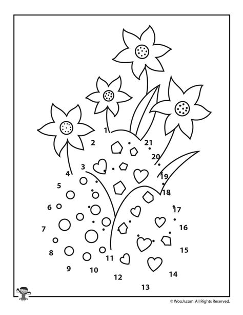 printable spring dot to dot spring easter eggs dot to dots woo jr kids activities