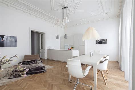 wohnung vintage apartment h m destilat archdaily