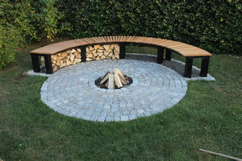 diy half circle bench 20 most amazing beautiful creative backyard garden diy