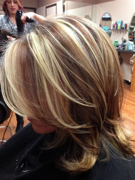 long blonde hair with dark low lights highlights and lowlights ideas 4 hair color highlight and