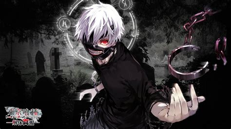 wallpaper keren zombie kaneki ken ghoul form full hd wallpaper and background