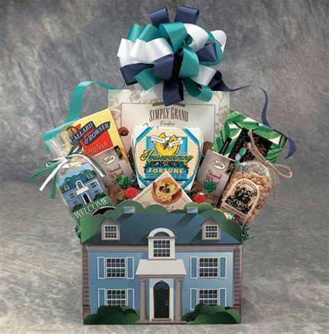welcome to your new home gift ideas gift baskets housewarming house warming new home
