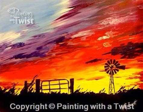 paint with a twist irving best 25 sunset ideas on ennis