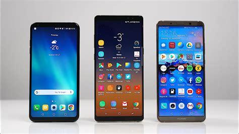 Samsung Galaxy Note 8 Huawei Mate 10 Pro by Lg V30 Vs Samsung Galaxy Note 8 Vs Huawei Mate 10 Pro Benchmark Swagtab
