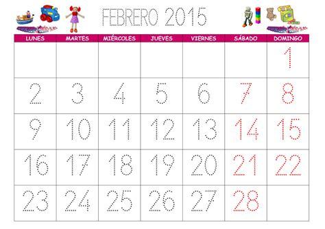 Calendario Febrero 2015 Calendario Febrero 2015