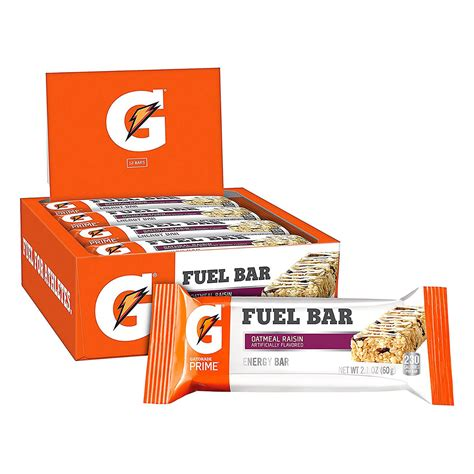 hydration depot gatorade fuel bar oatmeal raisin hydration depot