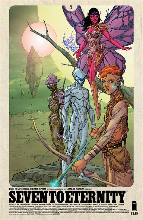libro seven to eternity volume seven to eternity 7 releases image comics