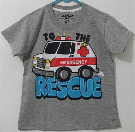 Harga Baju Anak Merk Oshkosh kaos ambulance rescue abu 1 6 oshkosh grosir eceran baju