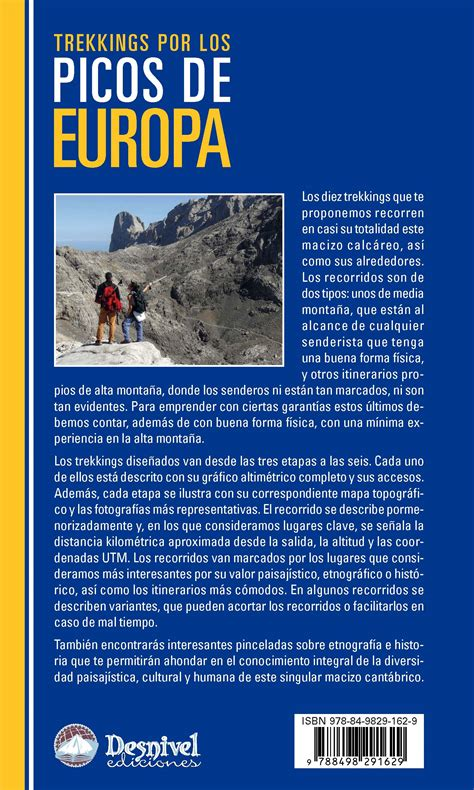 libro picos de europa spanische ediciones desnivel trekkings por los picos de europa luis aurelio gonz 225 lez loli palomares