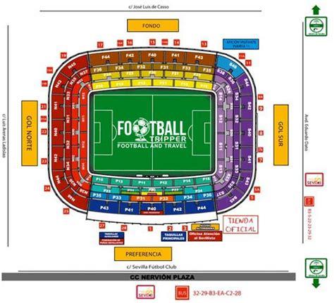 Due North Chairs by Estadio Ram 243 N S 225 Nchez Pizju 225 N Sevilla Football Tripper