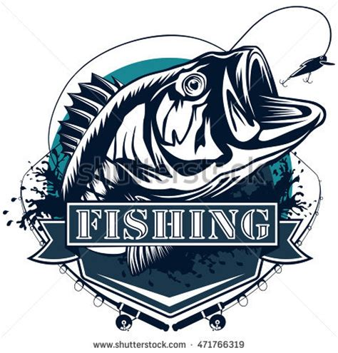 ice boat graphics bass fishing stock images royalty free images vectors
