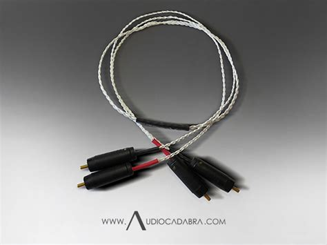 Handcrafted Audio - audiocadabra ultimus plus handcrafted analog cables