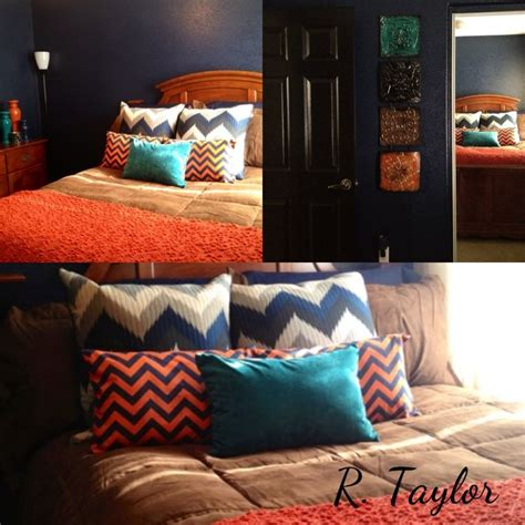 teal and orange bedroom ideas 32 best images about navy teal and orange rooms on