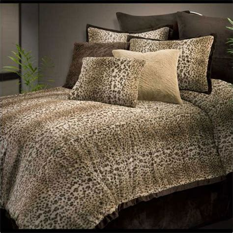Cheetah Print Bed Set Cheetah Print Comforter Set Safari Bedding