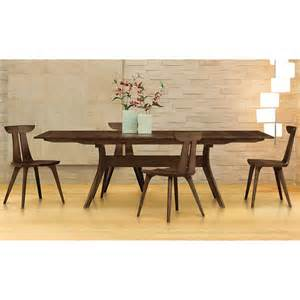 Walnut Dining Room Table by Copeland Audrey Walnut Solid Top Dining Table American