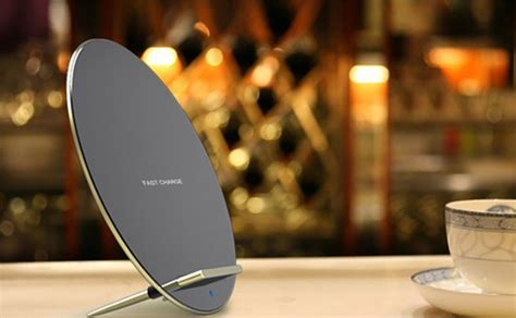 Original Samsung Standing Wireless Fast Charging Pad Fo Promo this is the sleek aluminum wireless charger your iphone 8