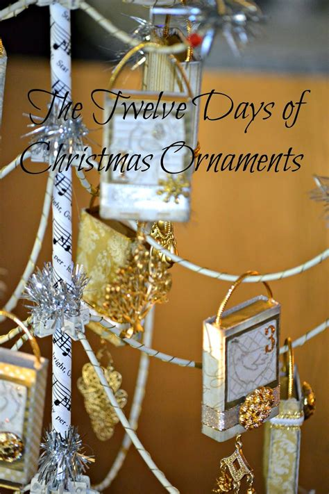 modern twelve days of christmas 12 days of ornaments quite contemporary
